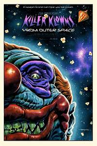 Killer Klowns from Outer Space Poster by Jason Edmiston