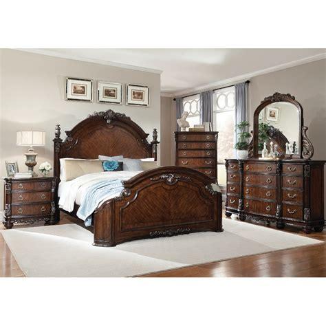 South Hampton Bedroom  Bed, Dresser & Mirror Queen