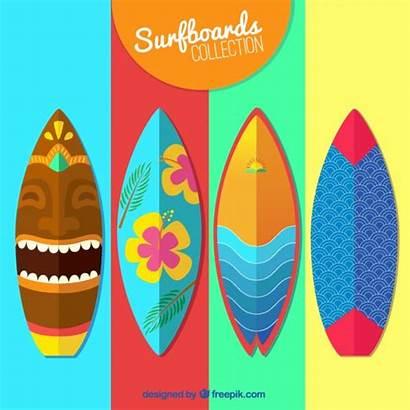 Surfboard Vector Colorful Surf Board Vectors Cool