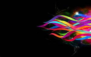 Abstract Ribbons Rainbow wallpapers | Abstract Ribbons ...