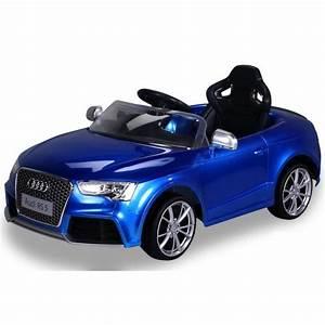 Darty Trottinette Electrique : voiture lectrique pour enfants audi rs5 bleu metallic ~ Melissatoandfro.com Idées de Décoration