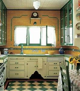 17 best images about tiled countertops on pinterest With kitchen colors with white cabinets with vintage fire truck wall art