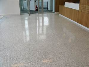 Removing stain on terrazzo floors loccie better homes for How to remove stains from terrazzo floors