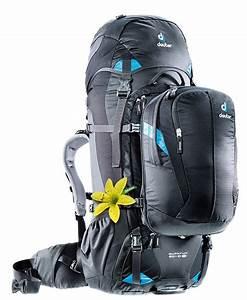 Deuter 60 10 : deuter quantum 60 10 sl travel backpack 60l 10l black blue ~ Buech-reservation.com Haus und Dekorationen