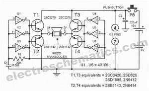 Electronic Dog Whistle Circuit