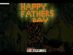 Minecraft- Happy Father's day! - YouTube