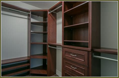 Corner Closet Shelves Design — The Homy Design