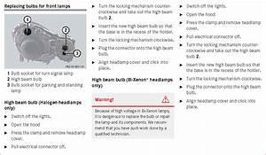 How Do I Replace The High Beam Headlight Bulb On A 2003