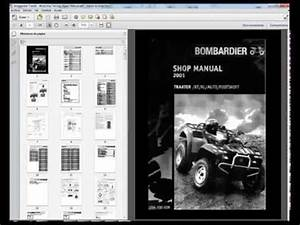 Bombardier Traxter - Workshop  Service  Repair Manual