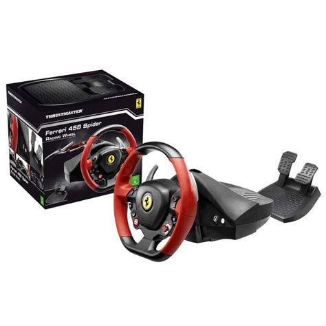 thrustmaster ferrari  spider racing wheel  xbox