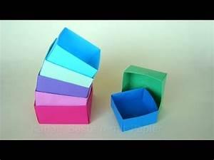 Quadratische Schachtel Falten : origami box basteln mit papier schachtel falten basteln ideen diy geschenkverpackung ~ Eleganceandgraceweddings.com Haus und Dekorationen