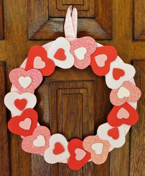 simply sweet valentine wreath allfreekidscraftscom