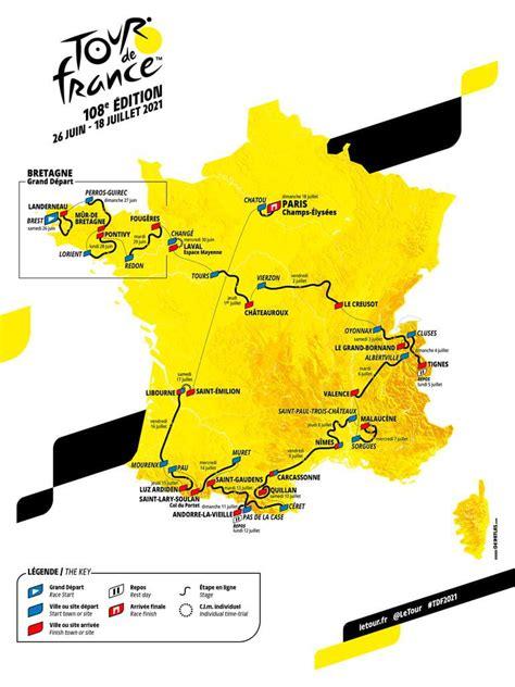 Udgave af cykelløbet tour de france. Tour de France 2021 : carte, dates des étapes... Les infos ...