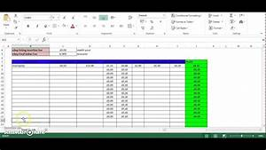 Ebay And Paypal Excel Spreadsheet With Free Download