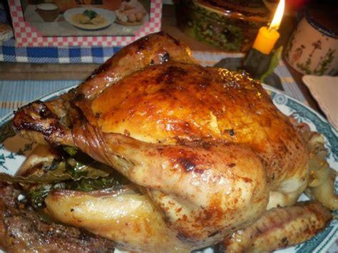 cuisiner un poulet roti recette poulet fermier de normandie rôti au four par la