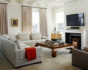 Beige Living Room—Beautiful and Cozy Living Room that
