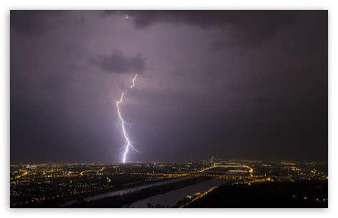lightning vienna 4k hd desktop wallpaper for 4k ultra hd