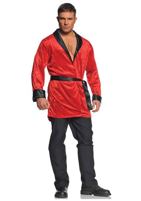 Kleding en accessoires Hugh Hefner Costume Adult Smoking ...
