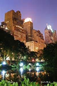 Central Park New York City at Night