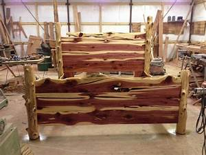 Rustic Cedar Bed Paul's interests Pinterest Tags
