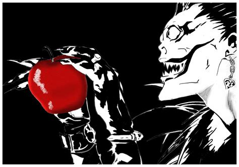Note Anime Wallpaper - ryuk wallpapers wallpaper cave