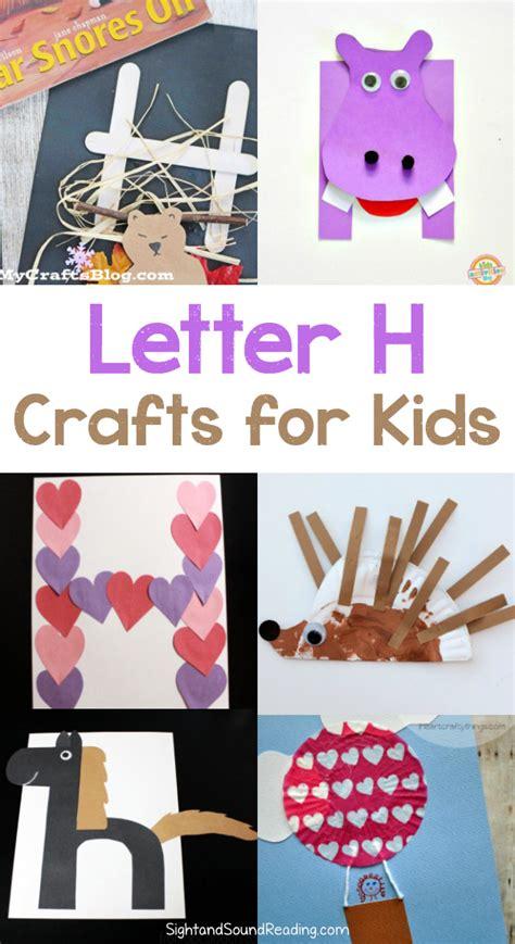 letter h crafts for preschool or kindergarten easy 930 | Letter H Crafts