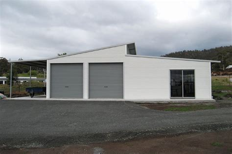 Australian Sheds And Garages by Skillion Sheds And Garages With Eaves For Sale