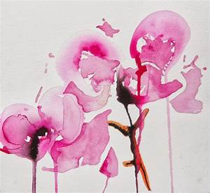 Karin Johannesson Contemporary Watercolour: ORCHIDS