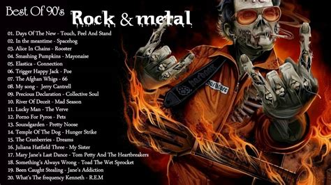 The Greatest Hits Rock & Metal 90 s alternative rock