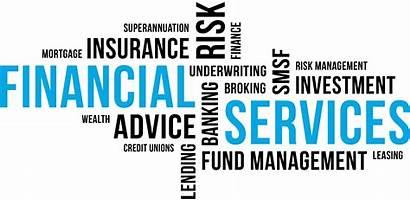 Financial Services Business Word Cloud Digital Companies
