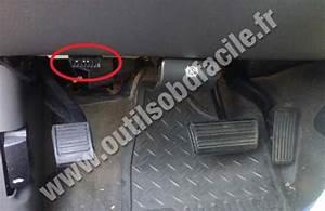 Obd2 Connector Location In Chevrolet Silverado Sierra