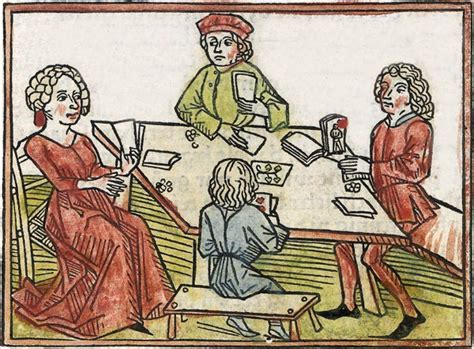 Medieval Gambling Games Dice And Street Games Lost