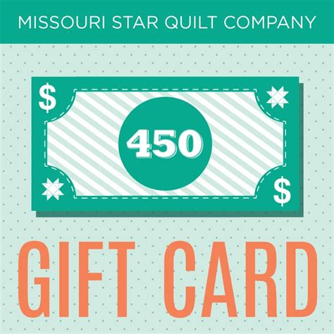missouri quilting company deal of the day 450 gift certificate to the missouri quilt company
