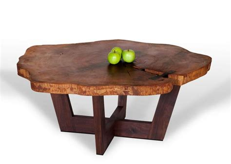 Coffee Table: Reclaimed Tree Trunk Coffee Table Tree Trunk Side Table, Decorative Tree Stumps