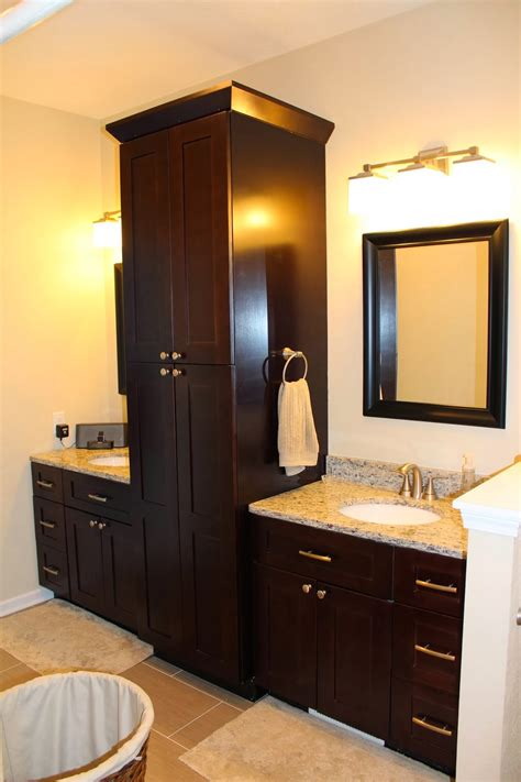 Using Kitchen Cabinets In Bathroom by Pantry Cabinet Bathroom Pantry Cabinet With Glamorous