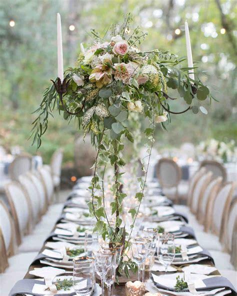 mercury glass votives floral wedding centerpieces martha stewart weddings