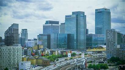 Business London Overcast Center Building Urban Wallpapers