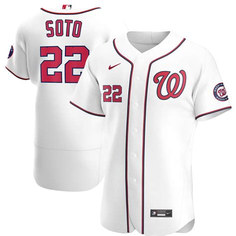 Nationals Authentic Jersey