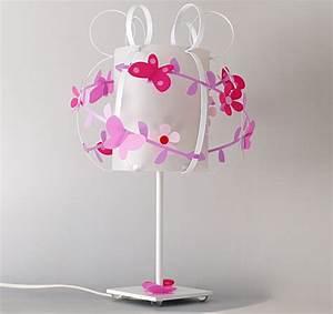 Lampe De Chevet Garçon : lampe de chevet fille grise rose parme s lections de lampes fille ~ Teatrodelosmanantiales.com Idées de Décoration