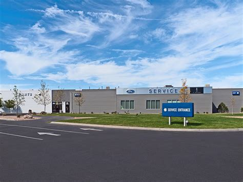 western slope ford lincoln custom facilities