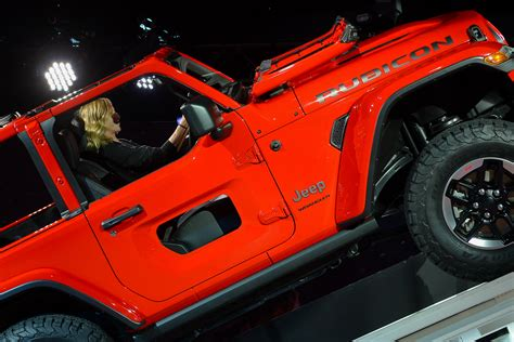 jeep half doors holy jeep check out the new jeep wrangler s half door option