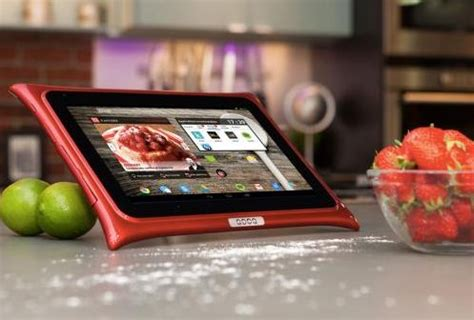 tablette cuisine qooq nouvelle tablette de cuisine qooq android le multimédia