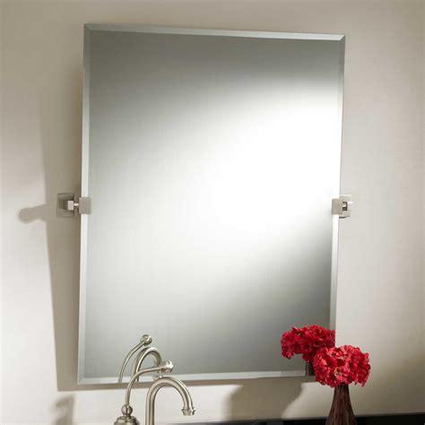 houston  tilting mirror bathroom