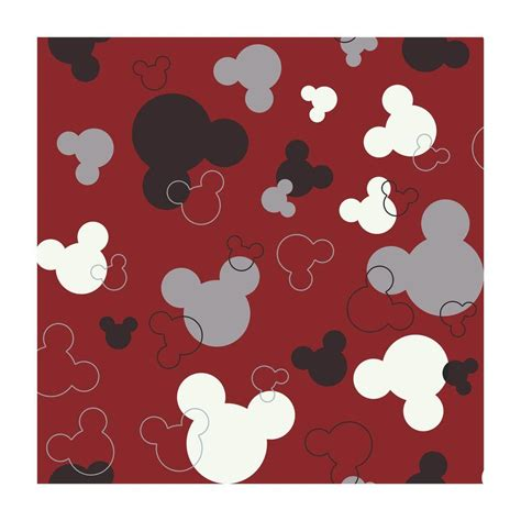 disney mickey mouse heads wallpaper dk5928 the home depot