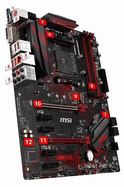 Msi B450 Gaming Amd Am4 Motherboard Boost
