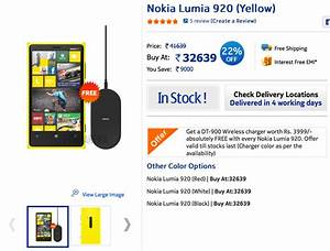 New Nokia Lumia 920 Price In India