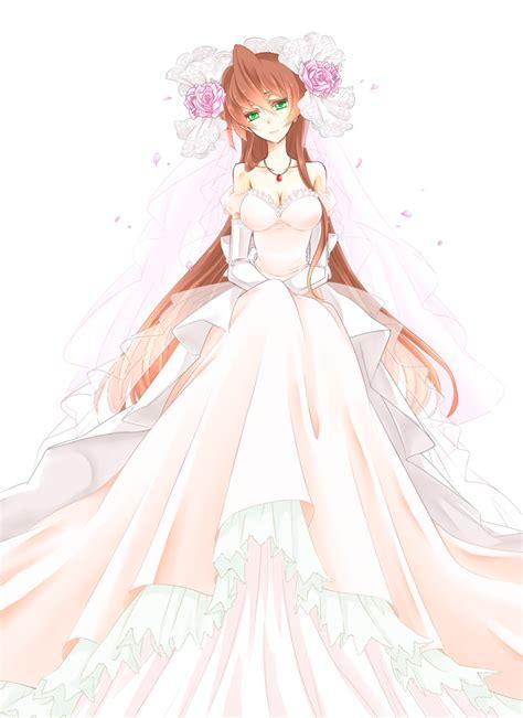 Anime Wedding Dresses - High Cut Wedding Dresses