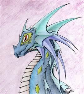 Water Dragon Drawings