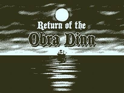 Obra Dinn Return Indie Din Games
