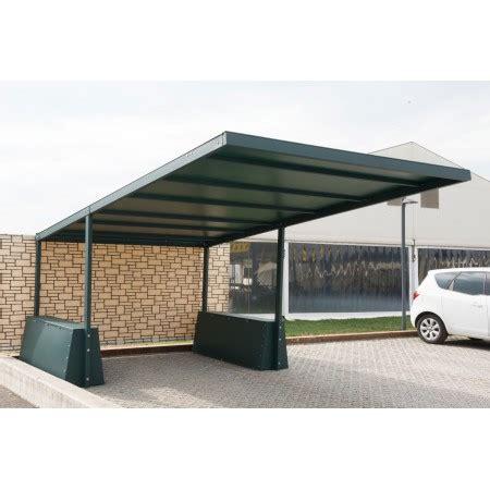 tettoia auto in ferro tettoia in ferro a sbalzo ts2 500x500 in ferro zincata e